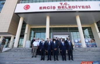 İçişleri Bakan Yardımcısı Erdil Van'da incelemelerde bulundu