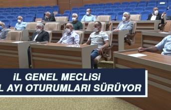 İl Genel Meclisi Eylül Ayı Oturumları Sürüyor