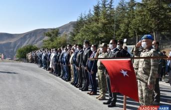 Irak'ın kuzeyinde şehit olan Piyade Uzman Çavuş Temelli'nin cenazesi törenle memleketine uğurlandı