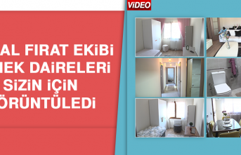 Kanal Fırat Ekibi TOKİ'nin Örnek Dairesini Gezdi