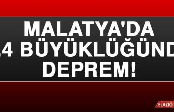 Malatya'da 4.4 Deprem Meydana Geldi!