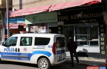 Malatya'da kuyumcu soygunu