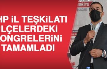 MHP Elazığ'da İlçe Kongrelerini Tamamladı