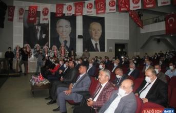 MHP Genel Başkan Yardımcısı Emin Haluk Ayhan, Kars'ta konuştu:
