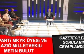 Milletvekili Bulut, Gazetecilerin Sorularını Cevaplandırdı