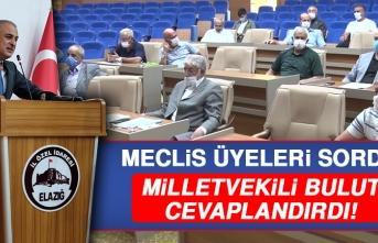 Milletvekili Bulut, Meclis Üyelerinin Sorularını Cevaplandırdı