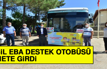 Mobil EBA Destek Otobüsü Hizmete Girdi