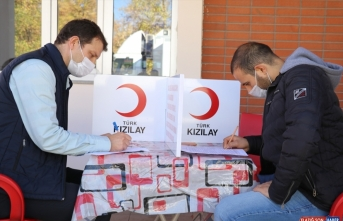 Ağrı Emniyetinden Türk Kızılaya kan bağışı desteği