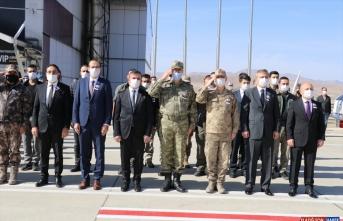 Ağrı'da şehit olan asker törenle memleketine uğurlandı