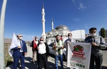 Ardahan'da Azerbaycan'a destek için