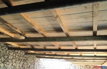 Ardahan'da çalınan aydınlatma direğinin ahır inşaatında kullanıldığı ortaya çıktı