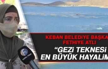 Başkan Atlı: Gezi Teknesi En Büyük Hayalimiz