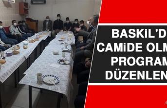 Baskil'de Camide Olmak Programı Düzenlendi