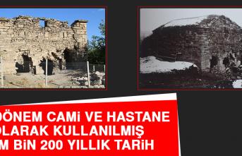 Bir Dönem Cami Ve Hastane Olarak Kullanılmış Tam Bin 200 Yıllık