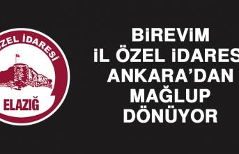 Birevim İÖİ, Ankara'dan Mağlup Dönüyor