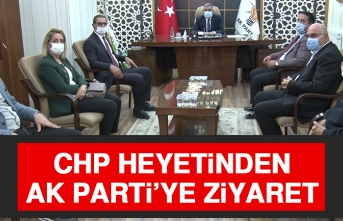 CHP Heyetinden, AK Parti'ye Ziyaret