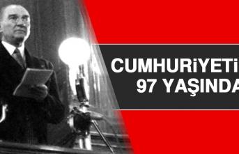 Cumhuriyetimiz 97 Yaşında