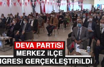 Deva Partisi Merkez İlçe Kongresi Gerçekleştirildi