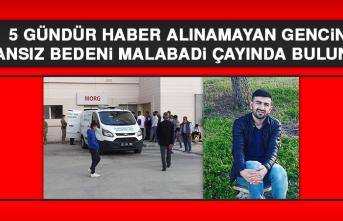 Diyarbakır'da Gencin Cansız Bedeni Malabadi Çayında Bulundu
