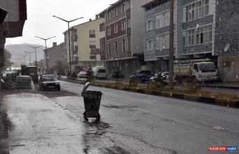 Doğu'da en düşük sıcaklık sıfırın altında 1 dereceyle Ardahan'da ölçüldü