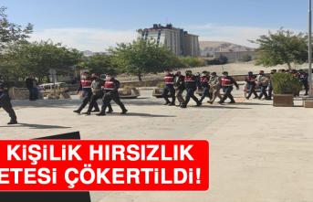 Elazığ'da 1 Ton 841 Kilo Bakır Kablo Çalan Hırsızlık Çetesi Çökertildi!