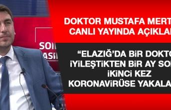 Elazığ'da Bir Doktor İyileştikten Bir Ay Sonra Tekrar Koronavirüs Oldu