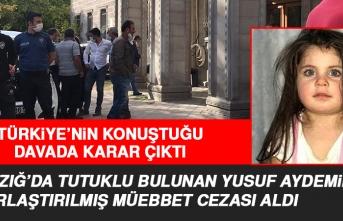 Elazığ'da Tutuklu Bulunan Sanığa Ağırlaştırılmış Müebbet Cezası Verildi
