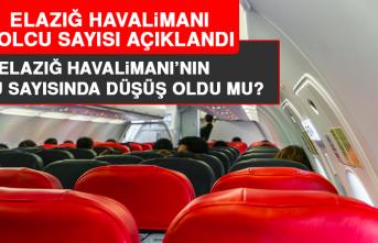 Elazığ Havalimanı'nın yolcu sayısında düşüş oldu mu?