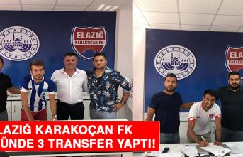 Elazığ Karakoçan FK, Son Günde 3 Transfer Yaptı!