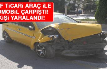 Elazığ'da Hafif Ticari Araç İle Otomobil Çarpıştı:3 Yaralı