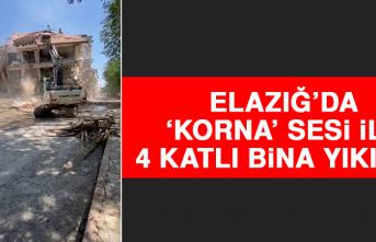 Elazığ'da 'Korna' Sesi İle 4 Katlı Bina Yıkıldı