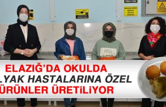 Elazığ'da Okulda Çölyak Hastalarına Özel Ürünler Üretiliyor