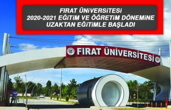 Fırat Üniversitesi'nde Eğitim COVİD-19 Gölgesinde Uzaktan Başladı