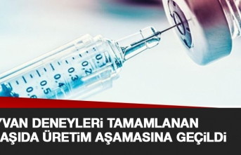 Hayvan Deneyleri Tamamlanan İlk Aşı Üretim Aşamasında