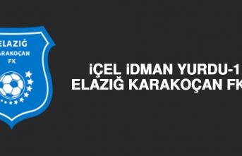 İçel İdman Yurdu 1-0 Elazığ Karakoçan FK
