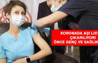 Koronada aşı listesi çıkarılıyor! Önce genç ve sağlıklılara