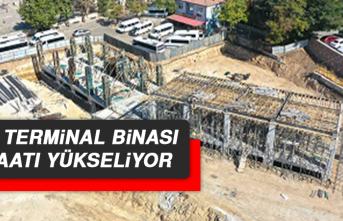 Mini Terminal Binası İnşaatı Yükseliyor