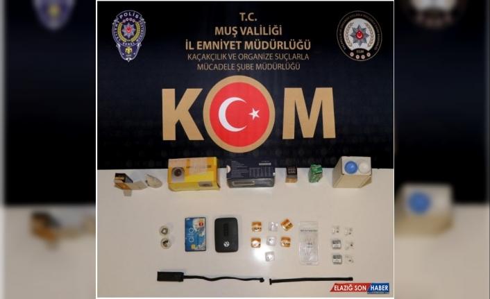 Muş'ta ehliyet sınavında kopya çekmeye çalışan 3 kişi yakalandı