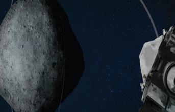 Nasa'nın Osırıs-Rex Uzay Aracı, Bennu Göktaşından Bugün Örnek Alacak