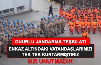 Onurlu Jandarma Teşkilatı, Sizleri Unutmadık