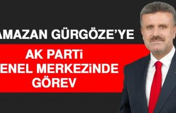 Ramazan Gürgöze'ye AK Parti Genel Merkezinde Görev
