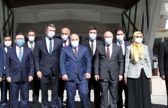 Sanayi ve Teknoloji Bakanı Mustafa Varank, Erzurum'da