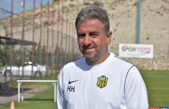 Yeni Malatyaspor Teknik Direktörü Hamza Hamzaoğlu: