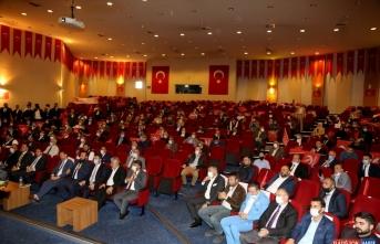 Yeniden Refah Partisi Genel Başkanı Fatih Erbakan, Erzurum'da konuştu: