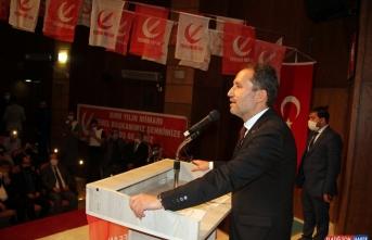 Yeniden Refah Partisi Genel Başkanı Fatih Erbakan, Iğdır'da konuştu: