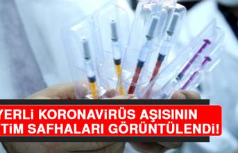 Yerli Koronavirüs Aşısının Üretim Safhaları Görüntülendi