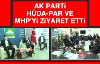 AK Parti, HÜDA-PAR ve MHP'yi Ziyaret Etti