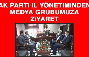 AK Parti İl Yönetiminden, Medya Grubumuza Ziyaret