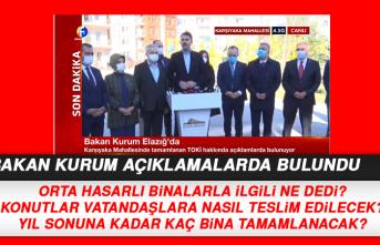 Bakan Murat Kurum, TOKİ Konutlarıyla İlgili Açıklama Yaptı