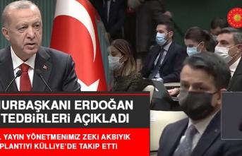 Cumhurbaşkanı Erdoğan, Deprem ve Koronavirüsle İlgili Açıklama Yaptı